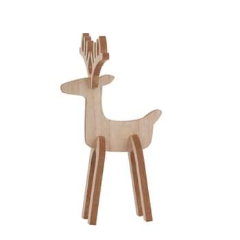 Drevený sob Rudolph 26cm