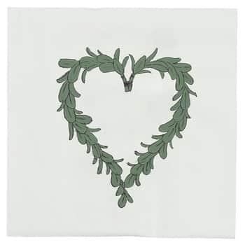 Papierové obrúsky Mistletoe