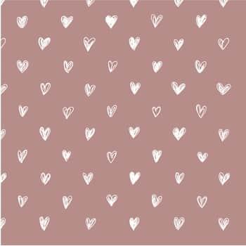 Papírové ubrousky Malva Hearts