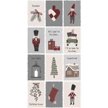 Papírové ubrousky Nostalgic Christmas