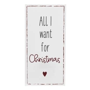 Papírové ubrousky All Iwant for Christmas