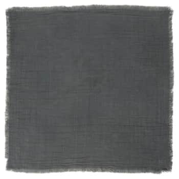 Bavlnený obrúsok Double Weaving Dark Grey