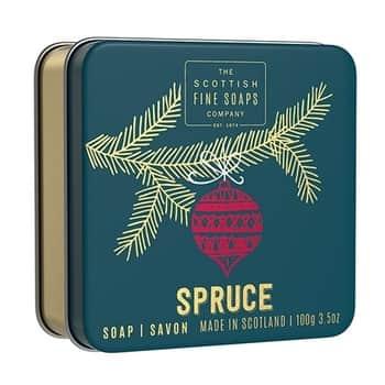 Vánoční mýdlo vkrabičce Spruce 100g