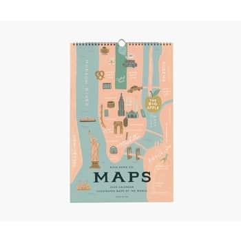 Nástěnný kalendář City Maps 2020