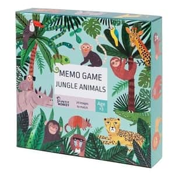 Dětské pexeso Jungle animals