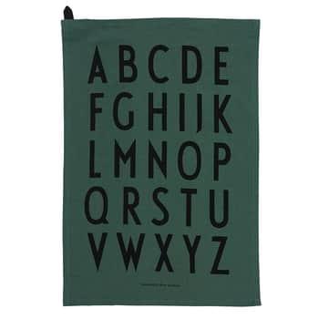 Designová bavlněná utěrka Green set 2 ks