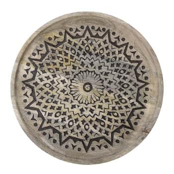 Dřevěný tác Mango Ø 40cm