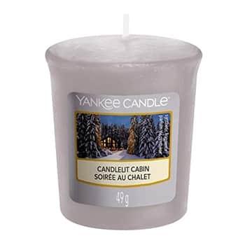 Votivní svíčka Yankee Candle - Candlelit Cabin