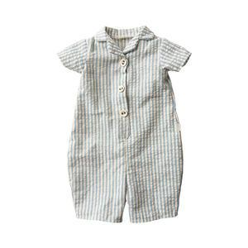 Pruhované pyžamo na králíčka - size 5