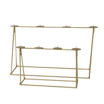 Adventní svícen Foldable Brass