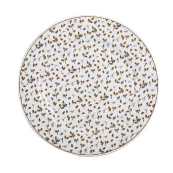 Porcelánový tanier Golden Acorns