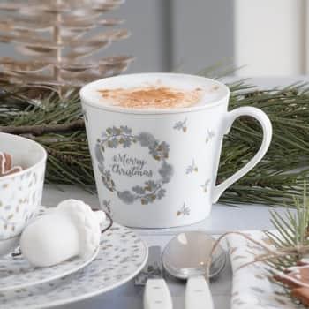 Porcelánový hrnček Merry Christmas