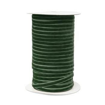 Sametová stuha Dark Green