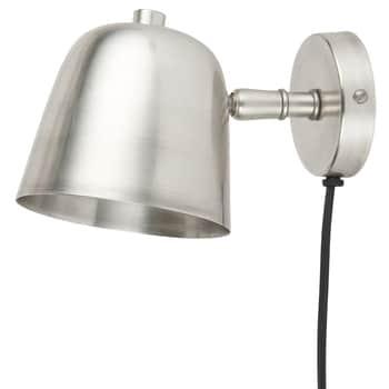 Nástenná lampa Antique silver Round