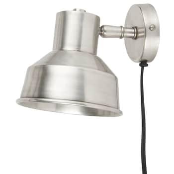 Nástěnná lampa Antique silver
