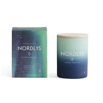 Vonná svíčka NORDLYS (polární záře) mini 55g