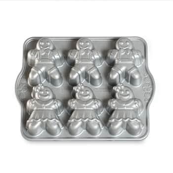 Hliníková forma na pečení ve tvaru perníčků Silver