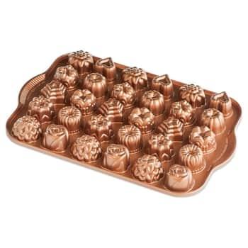 Hliníková forma na 30 mini dortíků Copper