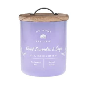 Vonná sviečka Dried Lavender & Sage 240g