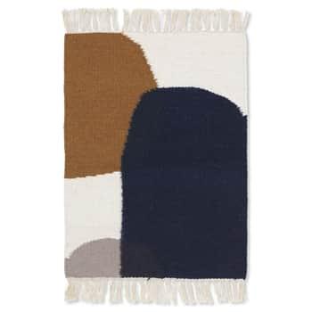 Vlnený koberec Kelim Mat Merge 50 x 70 cm