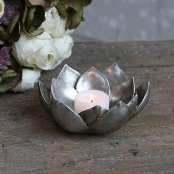 Svícen na čajovou svíčku Toulon Flower
