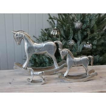 Adventná dekorácia Rocking horse