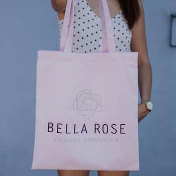 Plátená taška Bella Rose