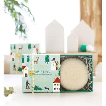 Dárkové vánoční mýdlo Frosted Spruce