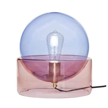 Skleněná lampa 70's Night Vibes