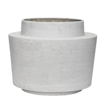 Velký obal na květináč Fiberstone Grey Pot
