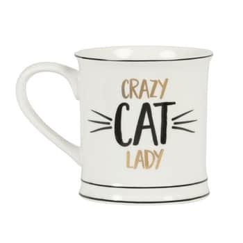 Porcelánový hrnek Crazy Cat Lady
