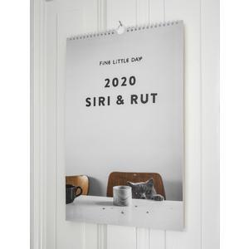 Nástěnný kalendář Siri and Rut 2020