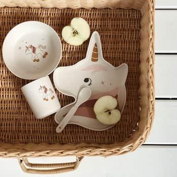 Sada dětského nádobí Unicorn Creme