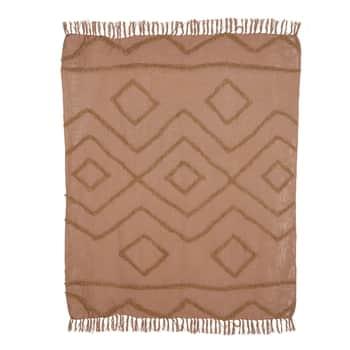 Bavlnený prehoz Fringe Pattern 130x170 cm