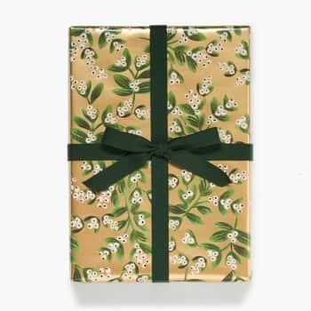 Balicí papír Mistletoe Gold 76x240