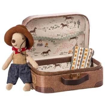 Myška Cowboy skufříkem Little Brother