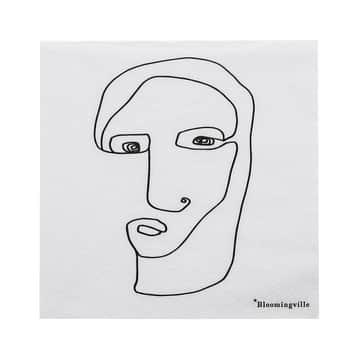 Papierové obrúsky Monarch's Face 20 ks