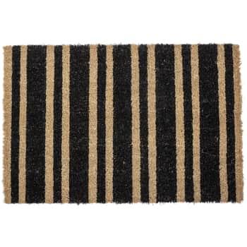 Rohožka zkokosových vláken Black Stripe
