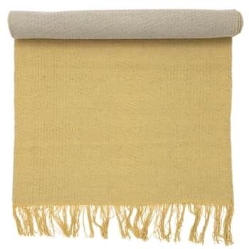 Bavlnený koberec Yellow Rug