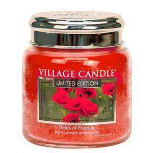 Svíčka Village Candle - Fields of Poppies 389g