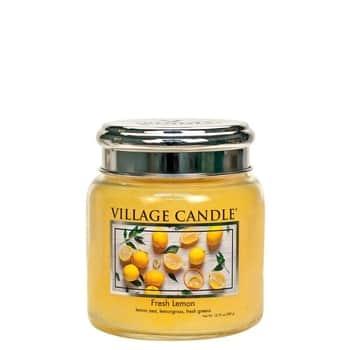 Svíčka Village Candle - Fresh Lemon 389g