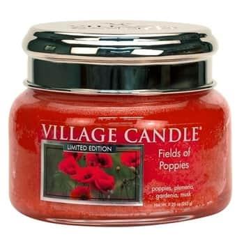 Sviečka Village Candle - Fields of Poppies 262g