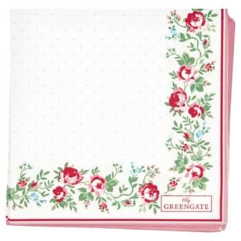 Papírové ubrousky Gabby White Small 20 ks