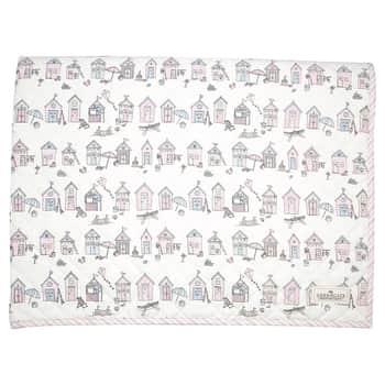 Bavlněný přehoz pro děti Ellison Pale Pink 120x120