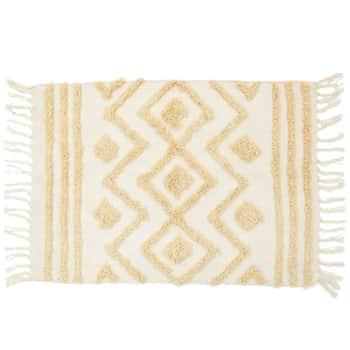 Bavlnený koberček Blanca Tufted Zigzag
