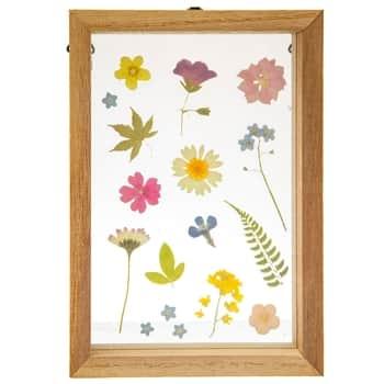 Dřevěný rámeček Pressed Floating Flowers