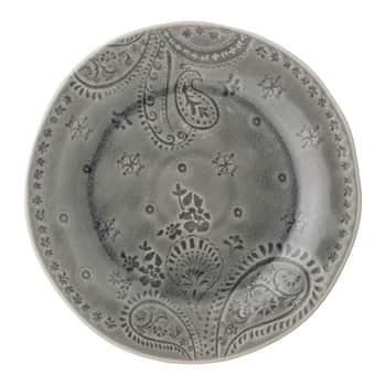 Obědový talíř Rani Grey