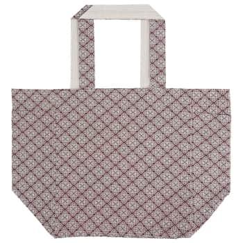 Bavlněná taška Rose/beige