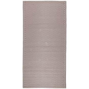 Plastový koberec Recycled Pink 90x180 cm