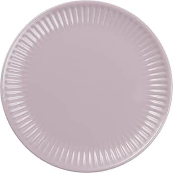 Vrúbkovaný tanier Mynte Lavender 19,5 cm